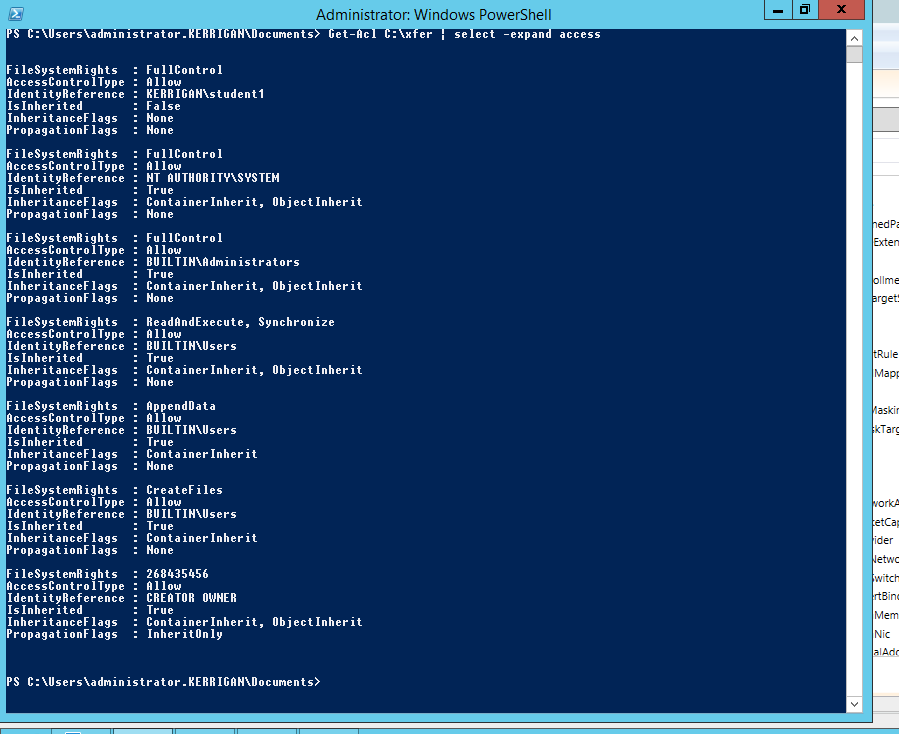 how to get shared drive in powershell